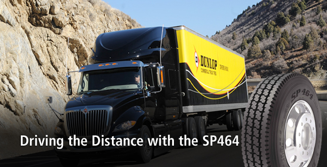 Dunlop Truck - Commercial Truck Tire Solutions and Information